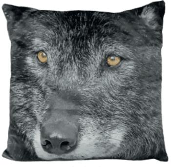 Cojín lobo 45 x 45