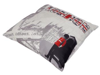 Cojines London rojo 45 x 45 - 2