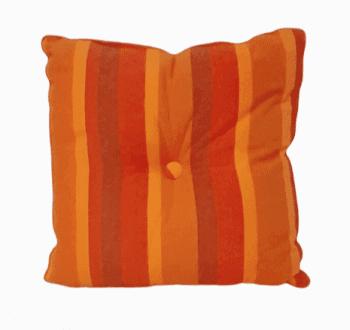 Cojines rayas naranjas - 1