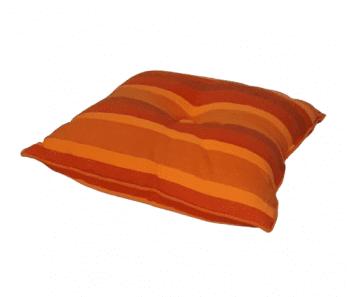 Cojines rayas naranjas - 3