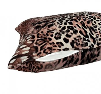 Cojín leopardo en terciopelo 45 x 45 - 2