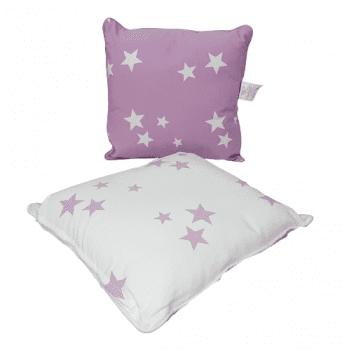 Cojines estrellas malvas 40 x 40 - 2