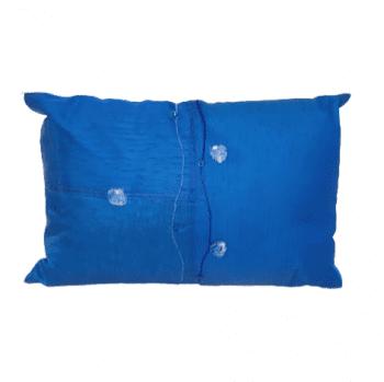 Cojines azul seda - 1