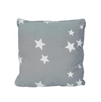 Cojines estrellas grises 40 x 40 - 1