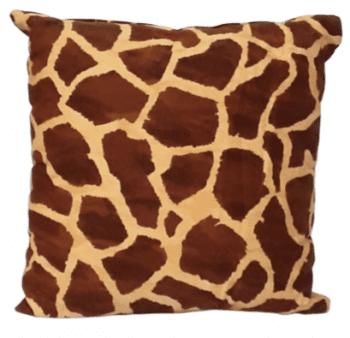 Cojines piel jirafa 50 x 50