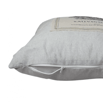 Cojín gris sauvignon 45 x 45 - 1