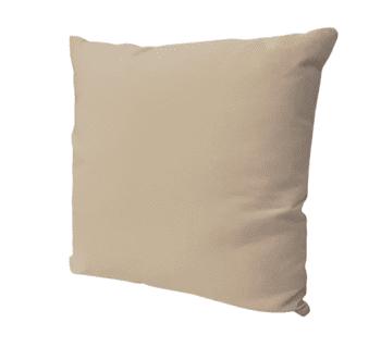 Cojín suave beige 45 x 45 - 2