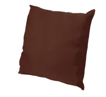 Fundas de cojines marrones 45 x 45