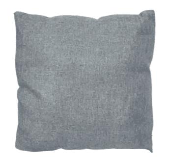 Fundas cojines grises saco 45 x 45