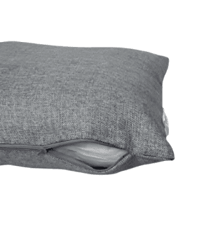 Fundas cojines grises saco 45 x 45 - 1