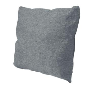 Fundas cojines grises saco 45 x 45 - 2