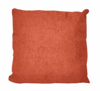 Funda cojines naranja tela saco 45 x 45