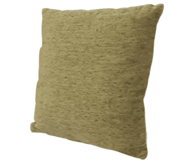 Cojines verde oliva chenilla 45 x 45 - 2