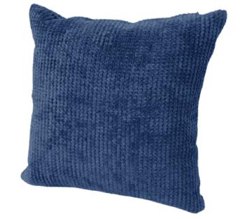 Fundas cojines azul tapicería rústica 45 x 45