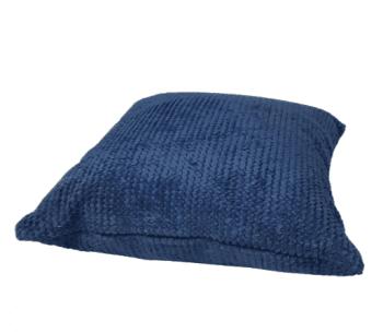 Fundas cojines azul tapicería rústica 45 x 45 - 1