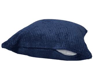 Fundas cojines azul tapicería rústica 45 x 45 - 2