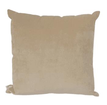 Cojín beige Versátil 45 x 45