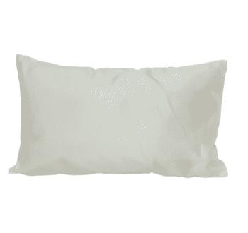 Cojines blancos rayas marrones 30 x 50 - 3