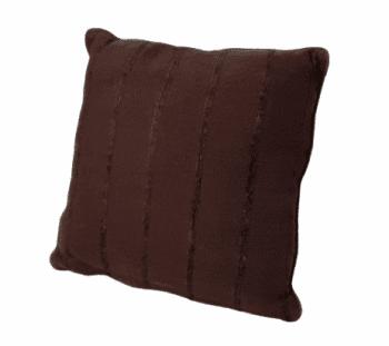 Cojín marrón  chocolate 45 x 45