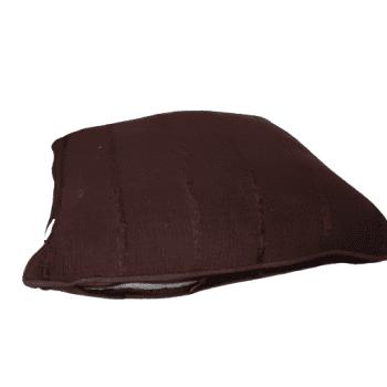 Cojín marrón  chocolate 45 x 45 - 1