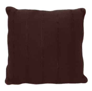 Cojín marrón  chocolate 45 x 45 - 2