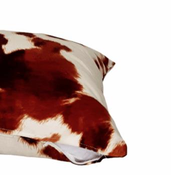 Funda de cojín animal print potro  50 x 50 - 3
