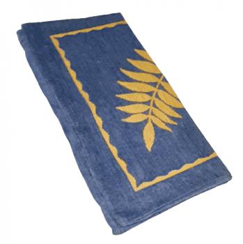 Fundas de cojines azul y amarillo 50 x 50 - 2
