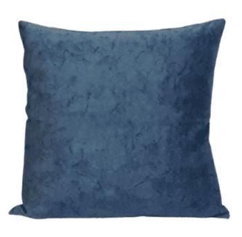 Fundas de cojín azul petróleo mármol 45 x 45 - 1