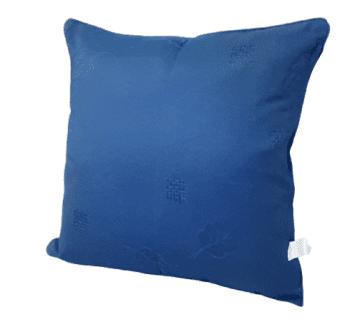 Fundas de cojín de jaquard azul 45 x 45