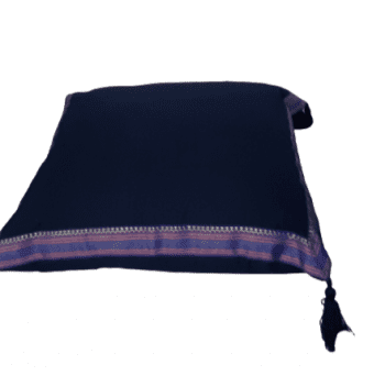Funda de cojín árabe azul marino 45 x 45 - 1