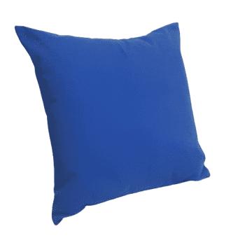 Fundas de cojines azules mimo 45 x 45