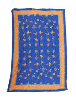 Boutie acolchado India azulón cama 80/90