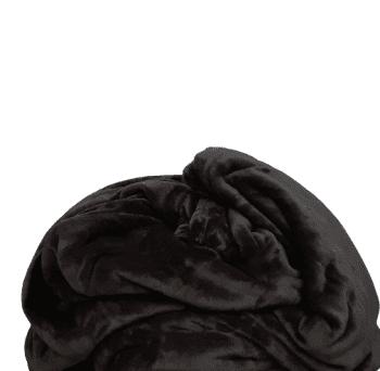 Manta terciopelo chocolate 230 x 240
