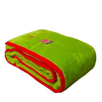 Manta verde Pierre Cardin 160 x 240