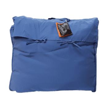 Relleno nórdico azul sofá 150 x 180