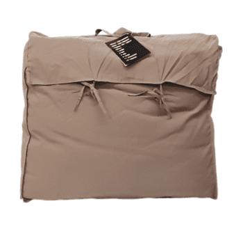 Relleno nórdico sofá marrón 150 x 180