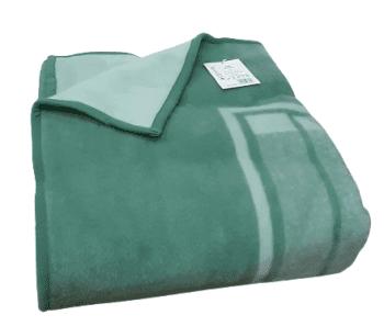 Manta gruesa cama 135 verde