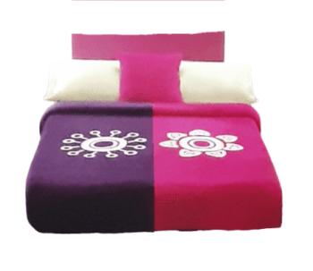 Manta fucsia Manterol cama 135