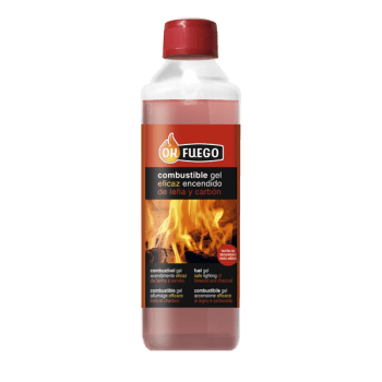 COMBUSTIBLE GEL barbacoas, chimeneas