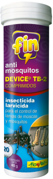 ANTIMOSQUITOS DEVICE PARA AGUAS ESTANCADAS