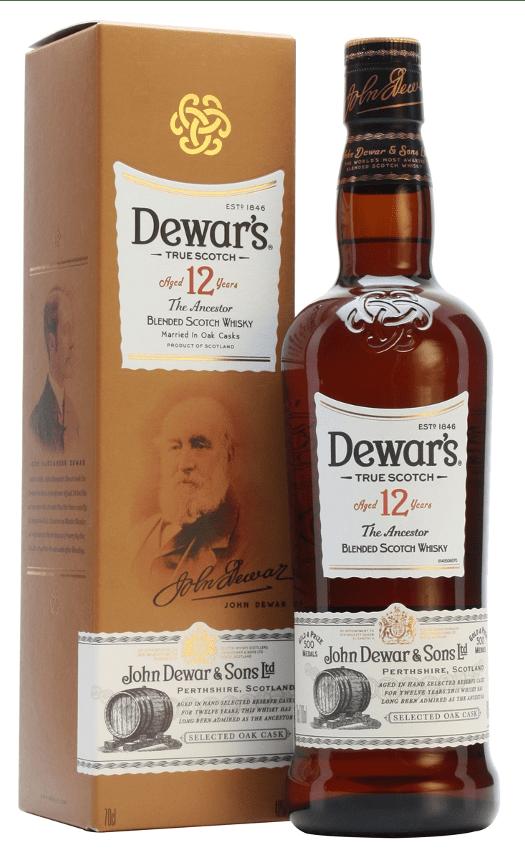 Whisky Dewar's 12 años 70 cl