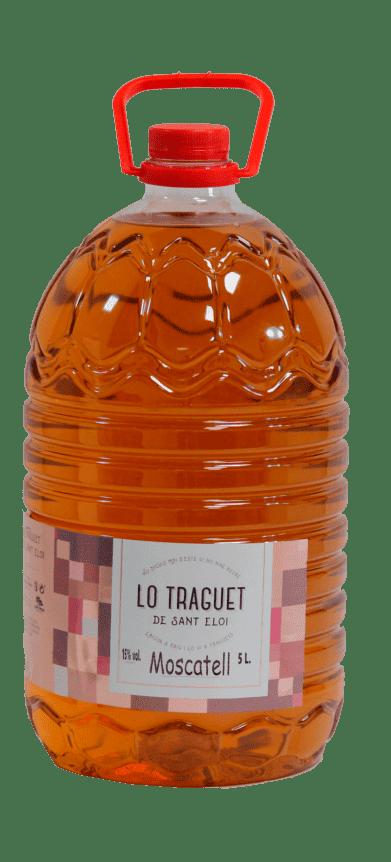 Lo Traguet Moscatell B. 5 lt