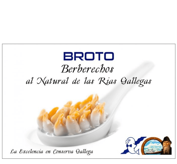 Escopinyes al Natural Broto 40/50