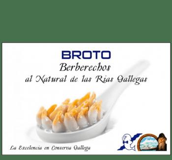 Berberechos al Natural Broto 40/50
