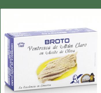 Ventresca de atún claro Broto en aceite de oliva