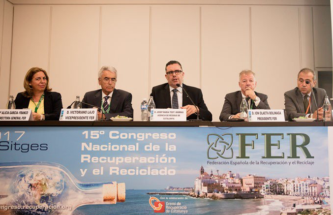 Reflexiones del 15º Congreso de reciclaje de la FER en Sitges.