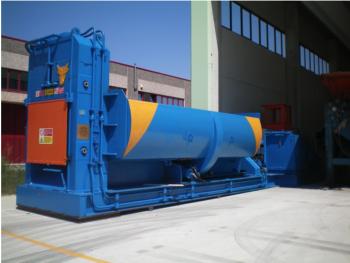 Sistema de precompresión de las prensas cizallas patentado por Taurus