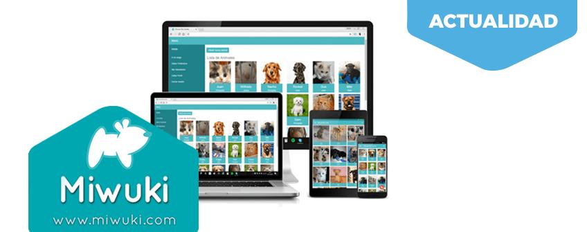 Miwuki. Una gran app para adoptar animales.