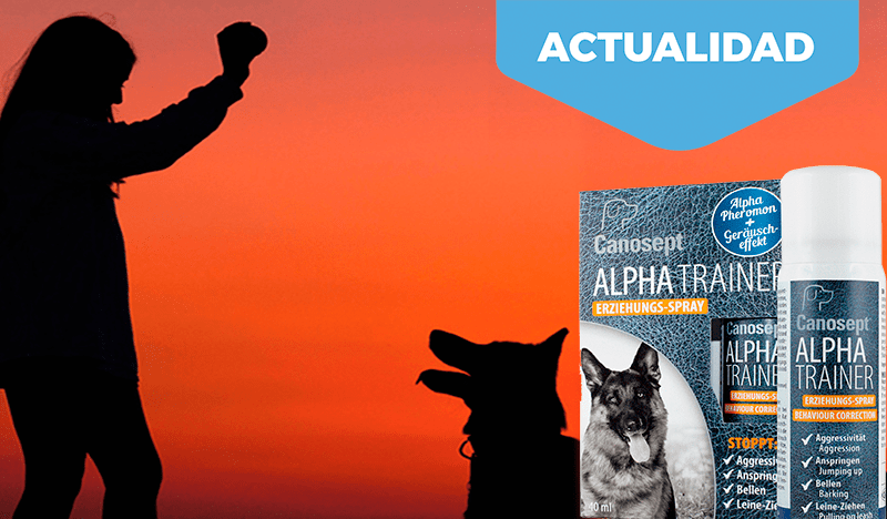 Novedad Cominter. Spray corrector conducta para perros Alpha Trainer