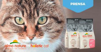 Holistic Cat Almo Nature. Nueva Imagen, nuevas recetas.